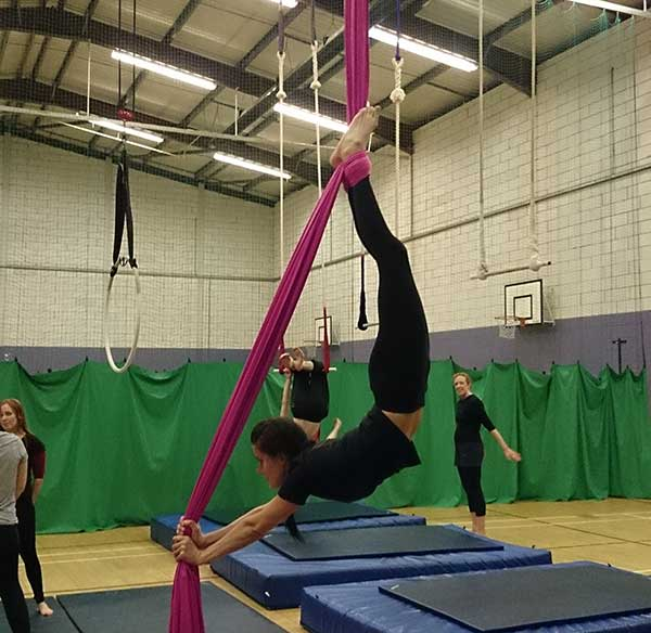 Aerial Conditioning - conditioning